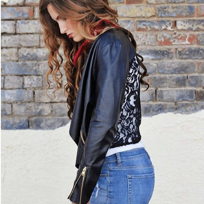 Leather Jacket from Wild Bleu | The Boutique Hub