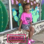 Glitter and Glam Boutique Kid Snakeskin Fringe Shorts