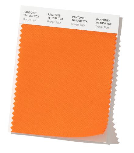 Fall Color Trend Report Orange Tiger