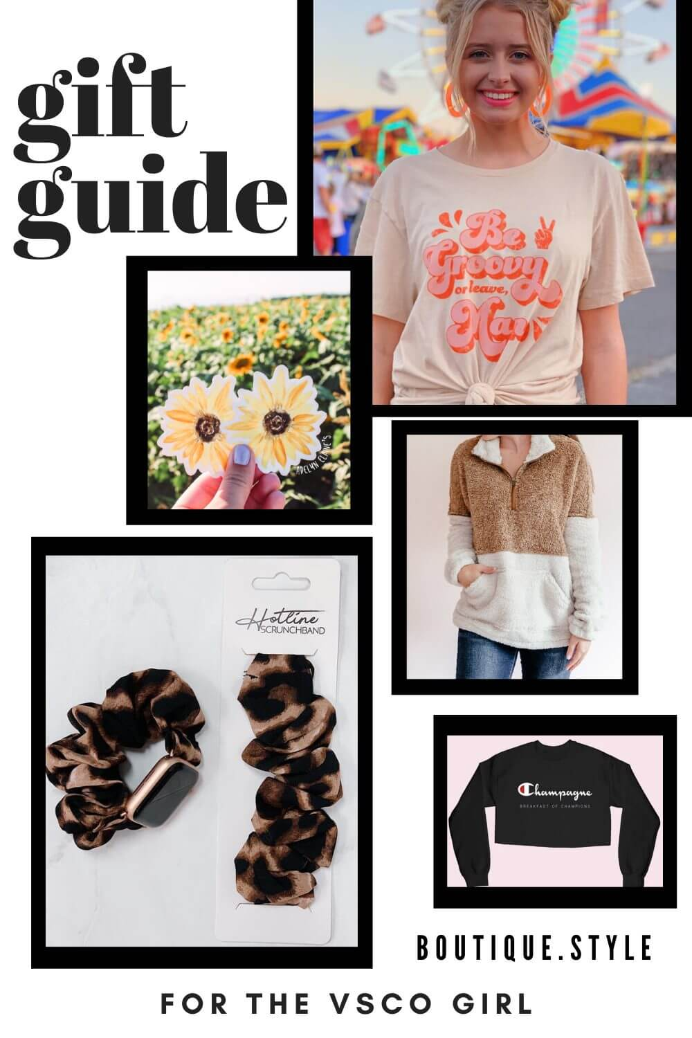 Gifts For The VSCO Girl Graphic