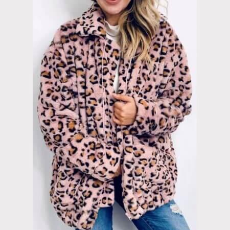 Lilas de Perse || Teddy Coat $58.00