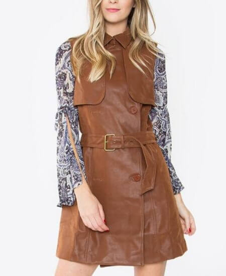 Rockn Boho Clothing || 70's Trench Vest $24.00