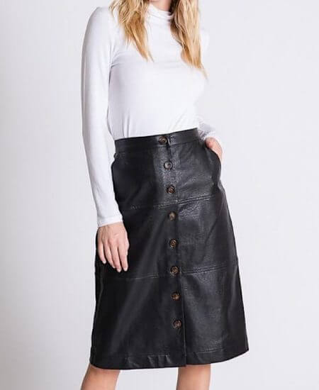 SVM Boutique || On the Mark Skirt $ 56.00