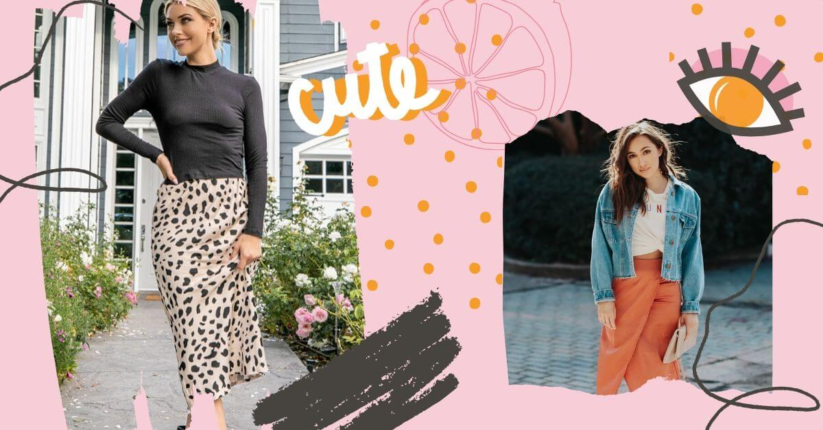 How To Wear a Midi Skirt || Boutique Style