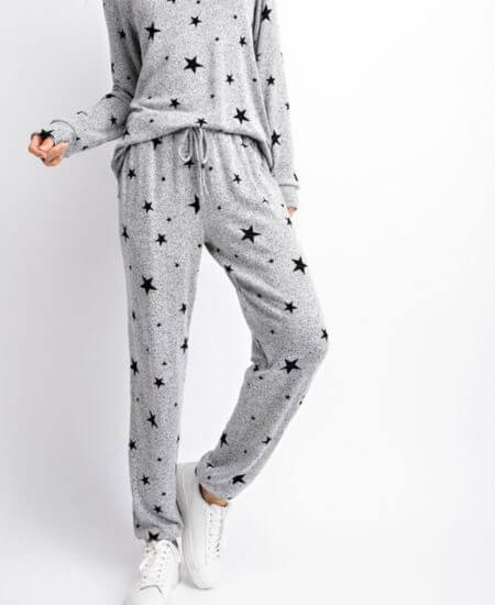 Little Bears Boutique || My Luck Stars Joggers $33.00