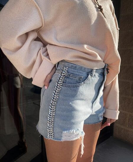 Revel Boutique || Western Glam Shorts