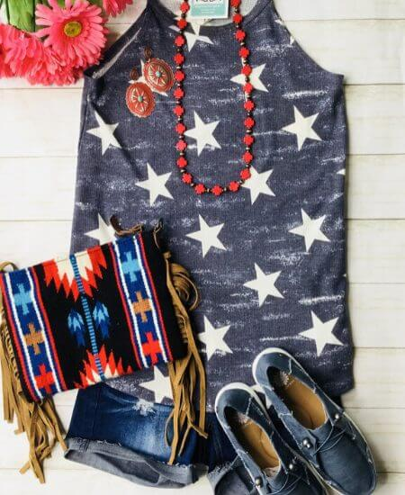 Envi Me || The Stars & No Stripes Tank $32.92