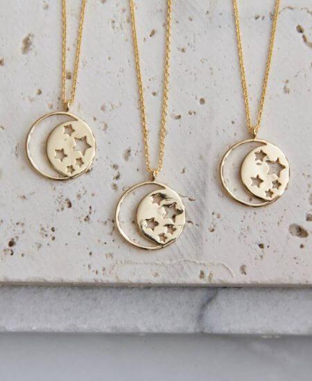 Tallulah Lou || Celestial necklace $26.00