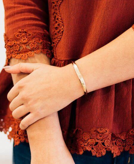 Ruby Claire Boutique || Gold Cuff Bracelet $12.00