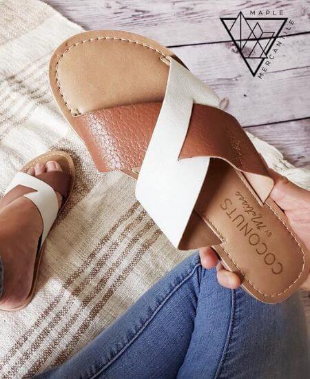 Maple Mercantile || Betwixt Sandal $30.00