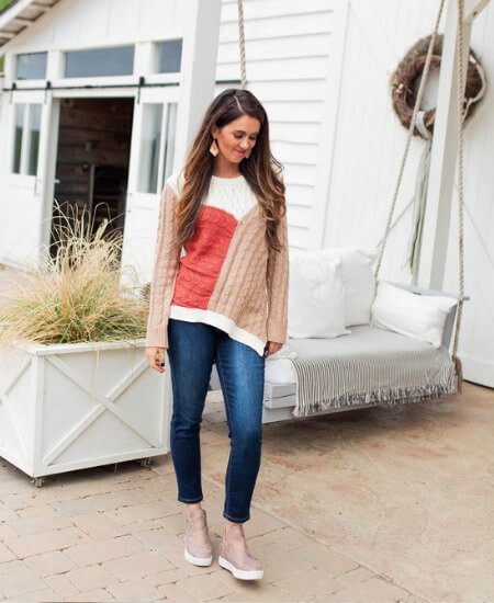 Jules and James Boutique || Hoping for Harvest Sweater $40.00