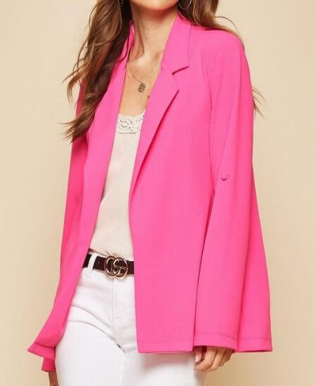 Curly Girl Boutique || The Working Girl Blazer $52