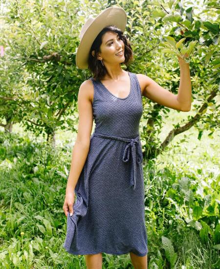 Ollie Frocks Boutique || Missing You Swiss Dot Midi Dress $40.00