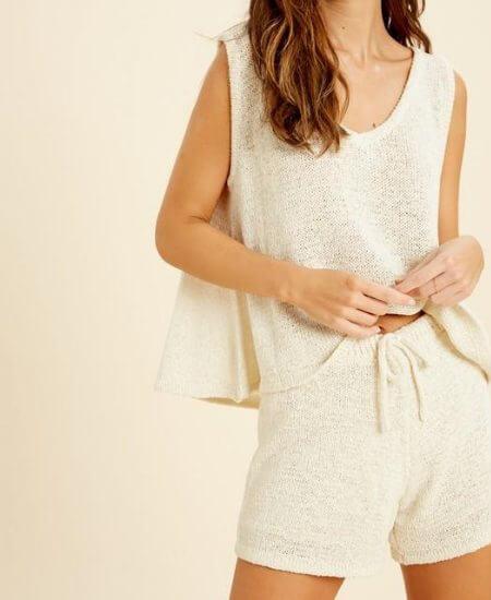 Swank Boutique || Knit Lounge Set - Bottom $ 36.50