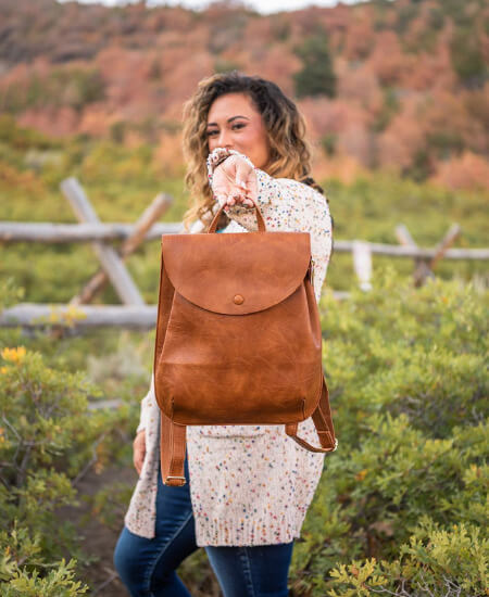 Alma Boutique || Blog It Babe Convertible Backpack $65.00