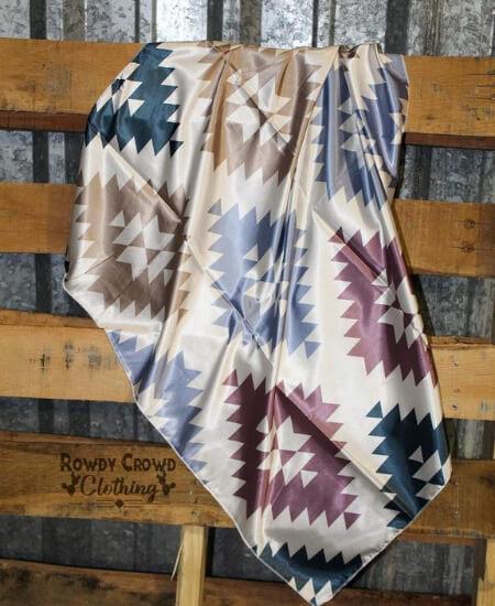 Rockin' T Boutique || ABILENE AZTEC WILD RAG Regular price$28.95