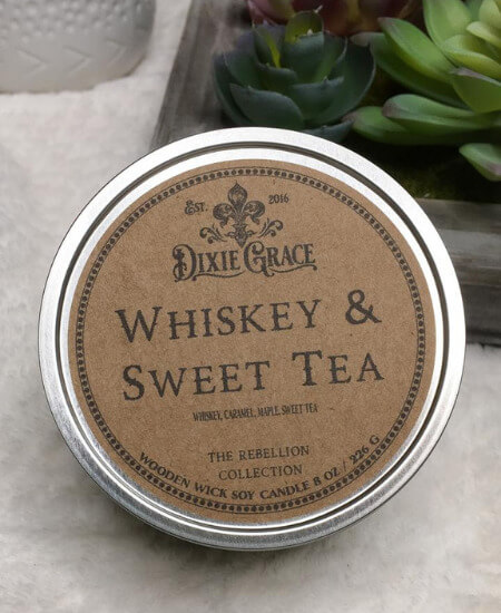 The Beaver Boutique || Whiskey & Sweet Tea Candle $10.00
