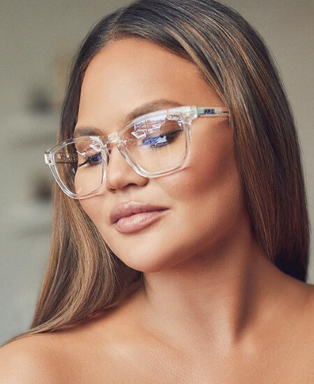 The Uptown Boutique || QUAY AUSTRALIA: HARDWIRE BLUE LIGHT GLASSES {CLEAR + CLEAR} $ 55.00