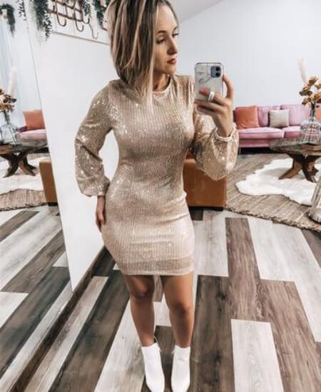 The Broken Levee Boutique ||Sequin Dress $54.00