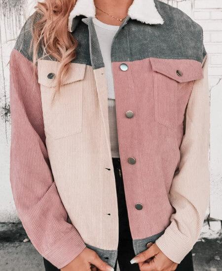 Denim & Street || Her Own Way Corduroy Jacket $44.00