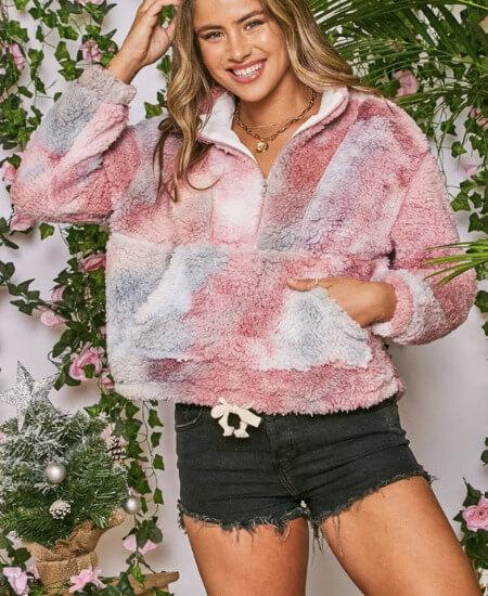 LUXE Clothiers || Liliana Sherpa $30.00