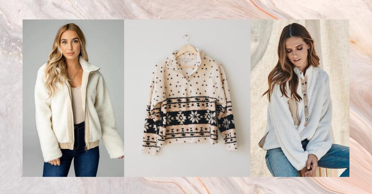 Women's Sherpa Outerwear