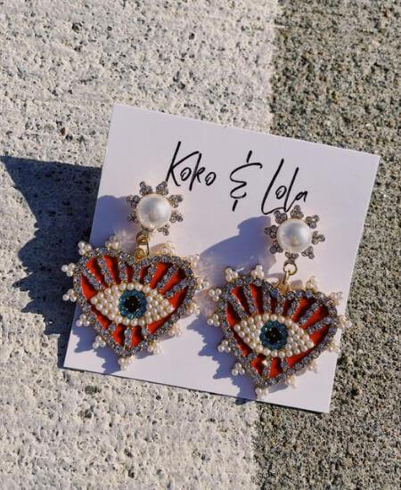 Revel Boutique || Designer Inspired Earrings $25.00