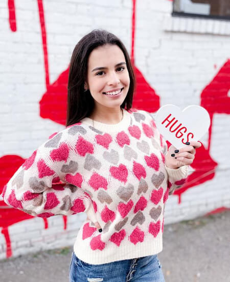 SVM Boutique || So In Love Sweater $42.00