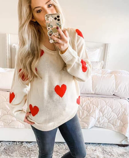 Heart & Soul Btq || The Galentine Sweater $48.00