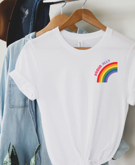 Sidebottom Style || Proud ally $35.00