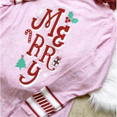 The Tiny Closet || Merry Charity Tee, Pink $45.00