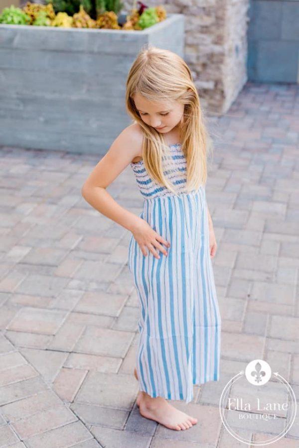 Ella Lane Boutique Kids Striped Palazzo Jumper
