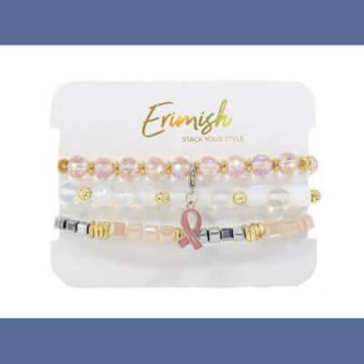 Kasey Leigh Boutique ||  Erimish Survivor Bracelet Stack $30.00