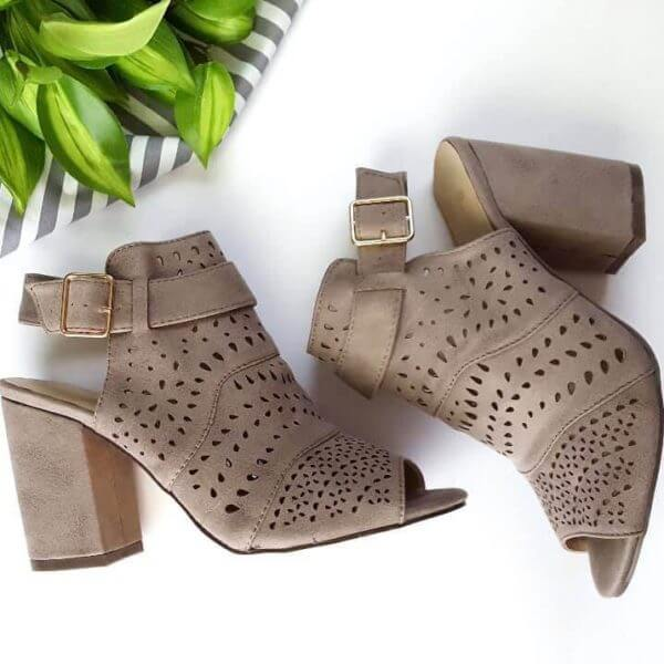The Lace Anchor Booties