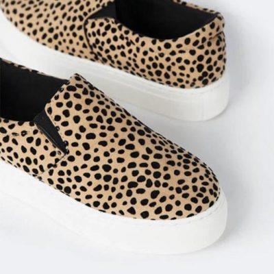 K. Ellis Boutique ||  Leopard Platform Sneakers