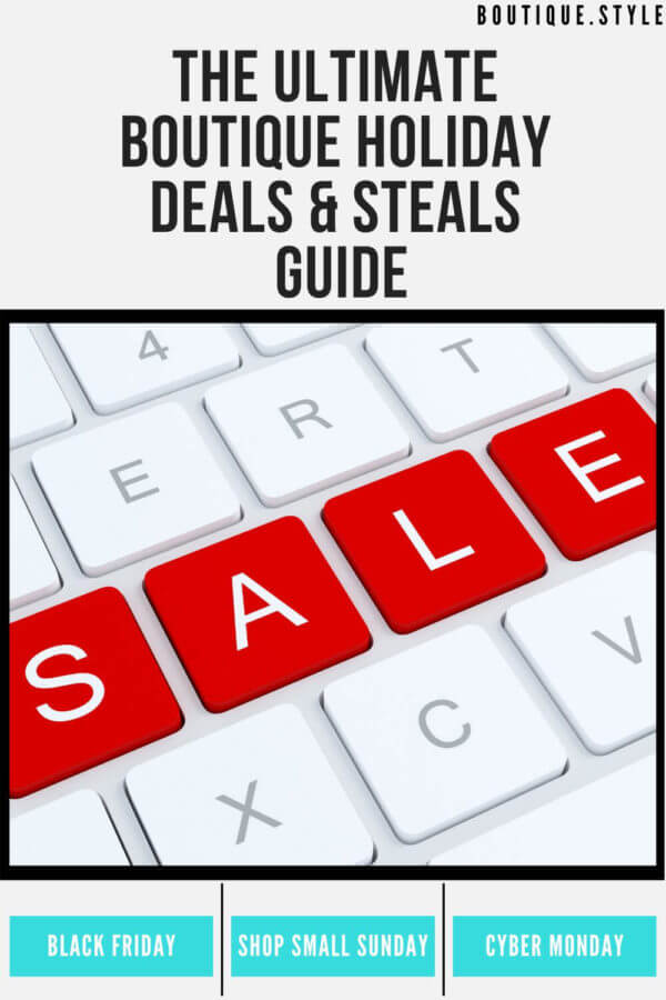 Ultimate Boutique Holiday Deals & Steals Guide
