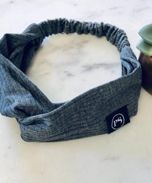 Shop Juni || The Charcoal + Burn Headband $12.00